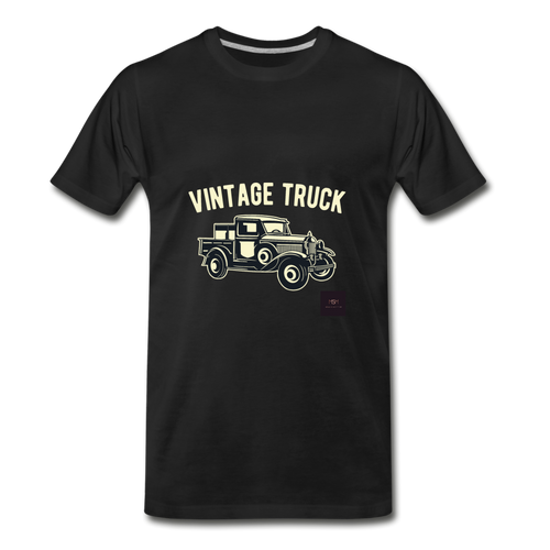 Vintage Mobile T-Shirt - black