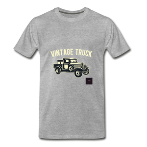 Vintage Mobile T-Shirt - heather gray