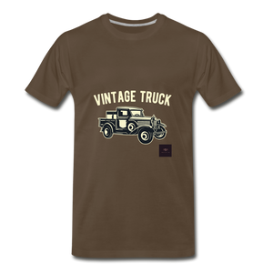 Vintage Mobile T-Shirt - noble brown