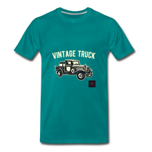 Load image into Gallery viewer, Vintage Mobile T-Shirt - teal