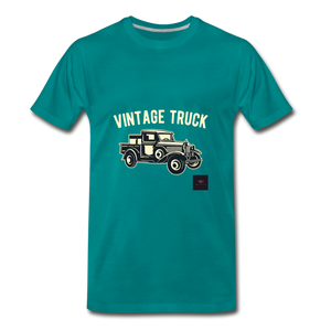 Vintage Mobile T-Shirt - teal