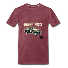 Load image into Gallery viewer, Vintage Mobile T-Shirt - heather burgundy