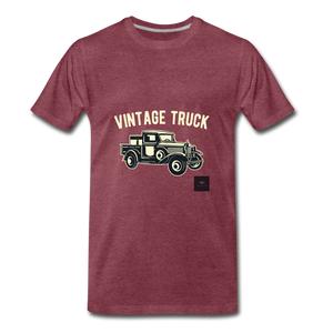 Vintage Mobile T-Shirt - heather burgundy