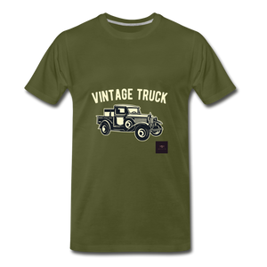 Vintage Mobile T-Shirt - olive green