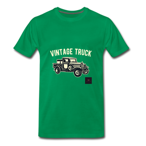 Vintage Mobile T-Shirt - kelly green