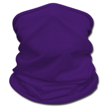 Load image into Gallery viewer, Black Face Mask/Scarf - purple