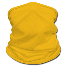 Load image into Gallery viewer, Black Face Mask/Scarf - sun yellow