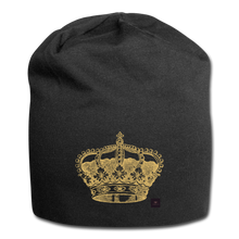 Load image into Gallery viewer, Crown Beanie - black