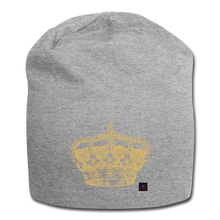 Load image into Gallery viewer, Crown Beanie - heather gray