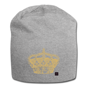 Crown Beanie - heather gray