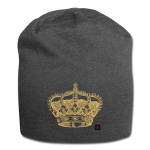 Load image into Gallery viewer, Crown Beanie - charcoal gray
