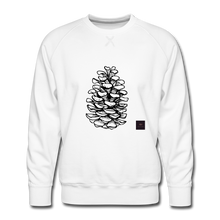 Load image into Gallery viewer, Pinecone Madness Sweatshirt - white