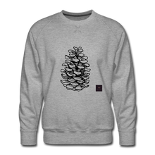 Load image into Gallery viewer, Pinecone Madness Sweatshirt - heather gray