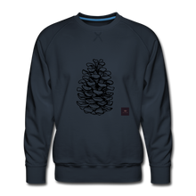 Load image into Gallery viewer, Pinecone Madness Sweatshirt - navy