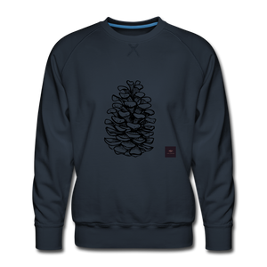 Pinecone Madness Sweatshirt - navy