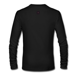 Ghosted Long Sleeve Shirt - black
