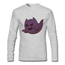 Load image into Gallery viewer, Ghosted Long Sleeve Shirt - heather gray