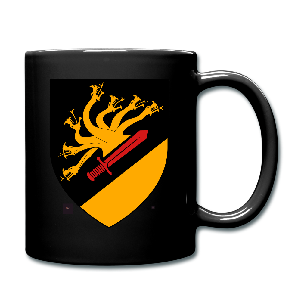 Dragon Crest Mug - black