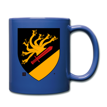 Load image into Gallery viewer, Dragon Crest Mug - royal blue