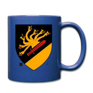 Dragon Crest Mug - royal blue