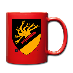 Dragon Crest Mug - red