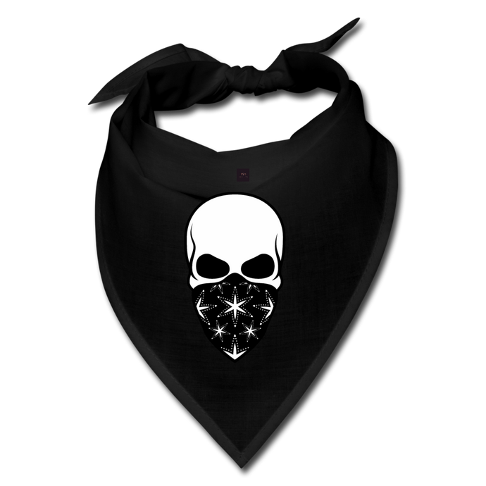 Skeleton Bandana - black