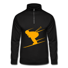 Load image into Gallery viewer, Skier Strong Men's Pullover - black