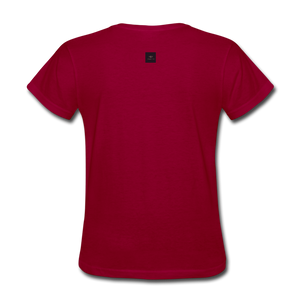 Hope For The Holidays Women's T-Shirt - dark red