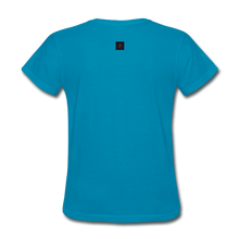 Load image into Gallery viewer, Hope For The Holidays Women's T-Shirt - turquoise