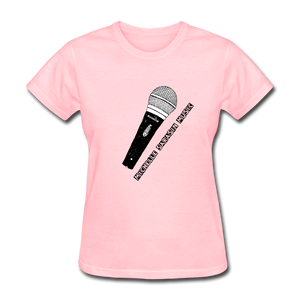 Michelle Sarasin Music Pink Shirt - pink