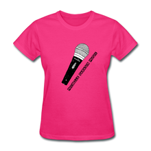 Load image into Gallery viewer, Michelle Sarasin Music Pink Shirt - fuchsia