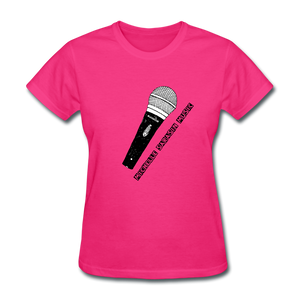 Michelle Sarasin Music Pink Shirt - fuchsia