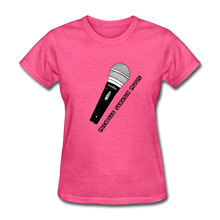 Load image into Gallery viewer, Michelle Sarasin Music Pink Shirt - heather pink