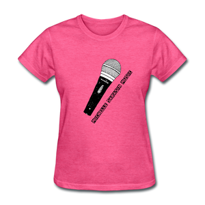 Michelle Sarasin Music Pink Shirt - heather pink