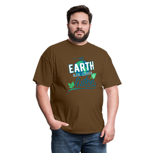 Earth Music T-Shirt - brown