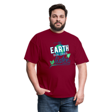 Load image into Gallery viewer, Earth Music T-Shirt - burgundy