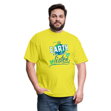 Load image into Gallery viewer, Earth Music T-Shirt - yellow