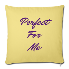 Load image into Gallery viewer, Perfect For Me Pillow - washed yellow