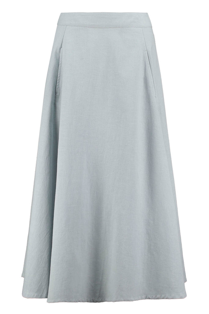 Rock - Laurel Skirt Grey Mist - Grau