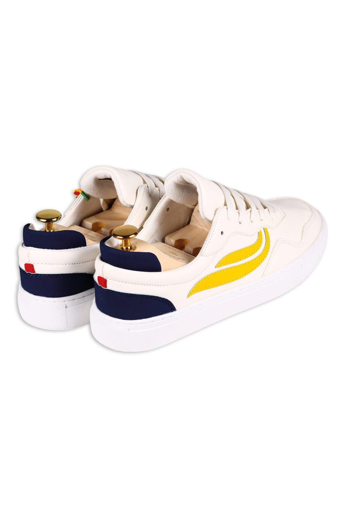 Sneaker - G-Soley - White Yellow Navy