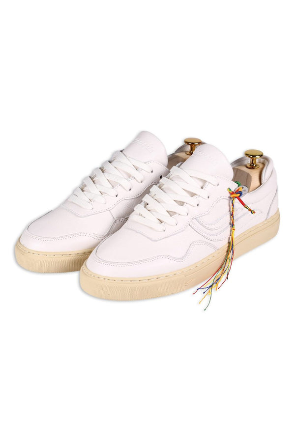 Sneaker - G-Soley Tumbled Offwhite - Weiß