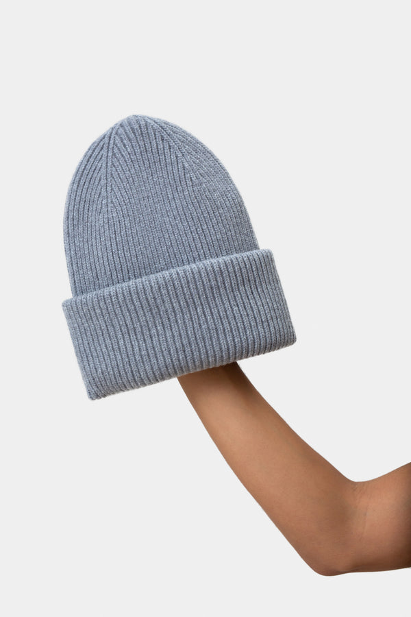 Mütze - Merino Wool Hat - Heather Grey