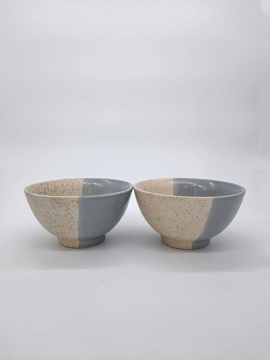 Kypelo Noodle Bowl Grey - Set Of 2 - Thevasa