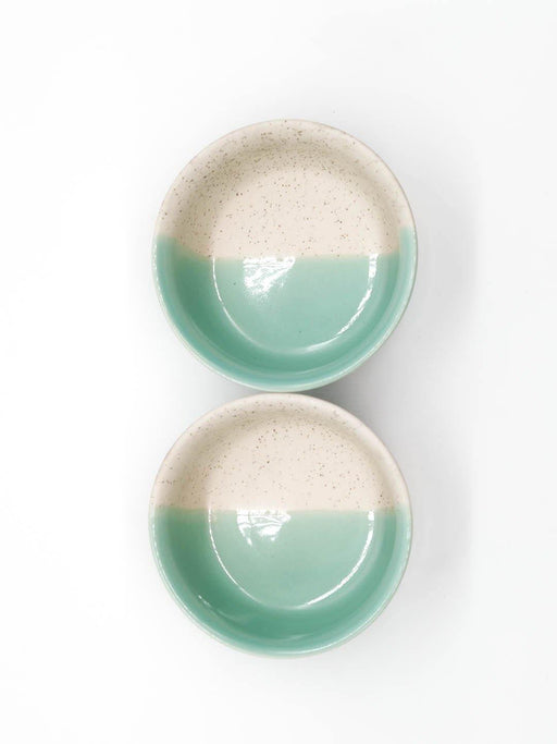 Kypelo Snack Bowl Green - Set of 2 - Thevasa