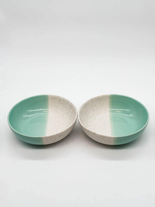 Kypelo Side-Serving Green Bowl - Set of 2 - Thevasa