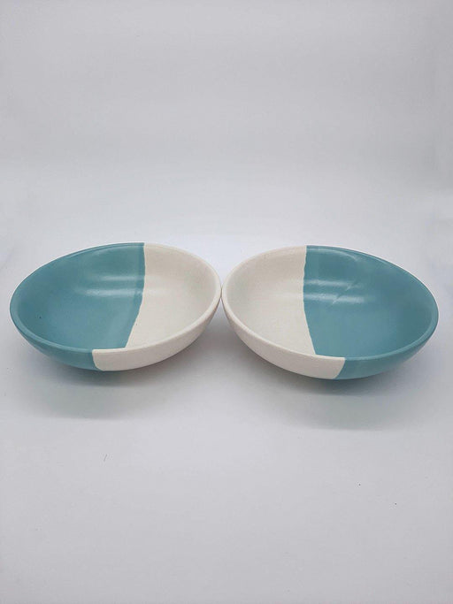 Kypelo Serve Blue - Set Of 2 - Thevasa