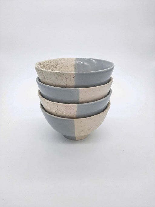 Kypelo Noodle Bowl Grey - Set Of 4 - Thevasa