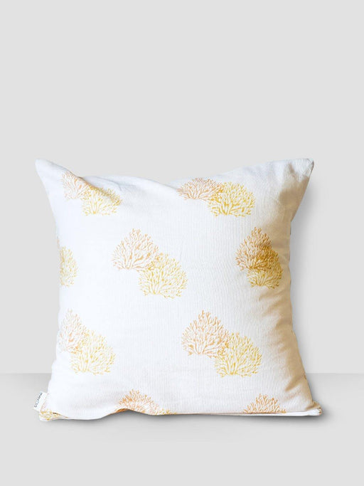 Ahoy Sailor Cushion Cover - Peach & Yellow Coral - Thevasa