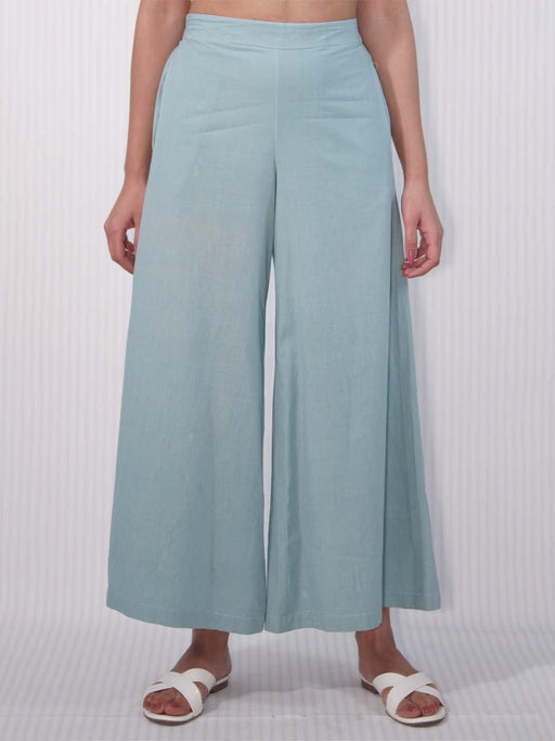 Carolina Blue Women Broad Pants