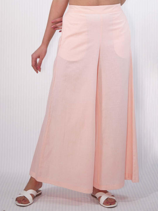 Pink Wide Legged Women Pant